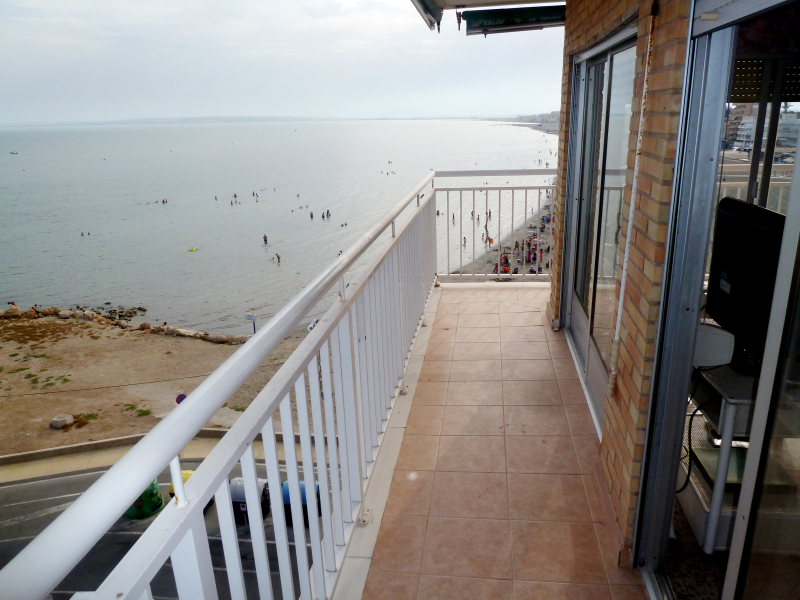 First Line Apartment Santa Pola with Sea Views with 4 bedrooms