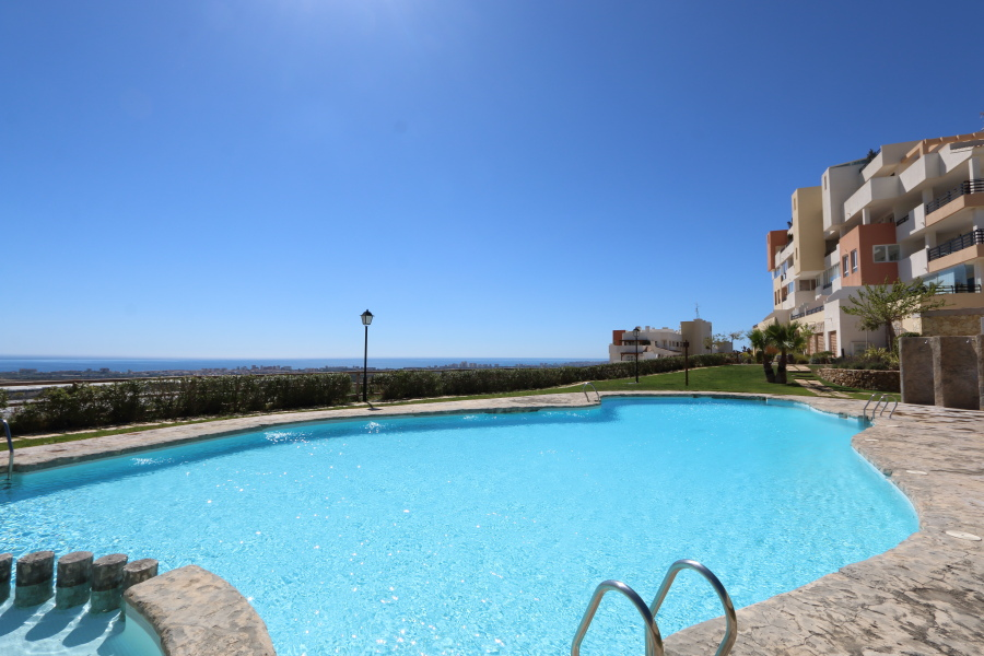 Sea View Penthouse Apartment For Sale in Bonalba Golf