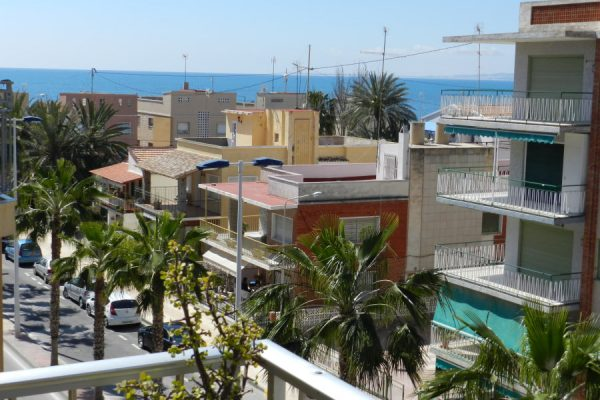 Sea View Santa Pola Apartment  with Terrace