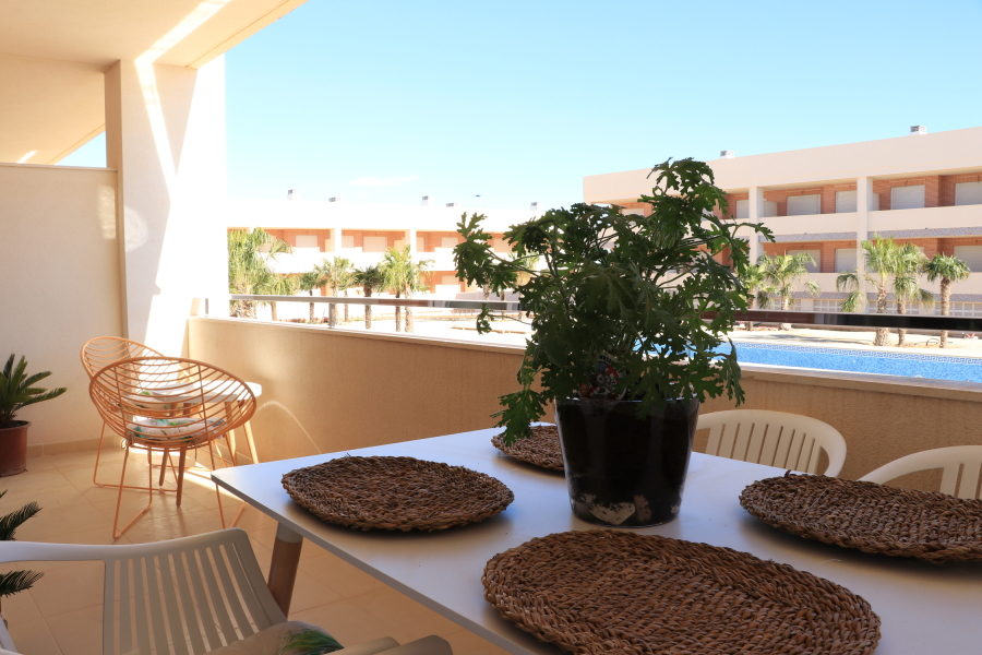 Gran Alacant Apartment with pool, storage, parking